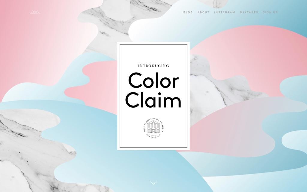 Color Claim by Tobias van Schneider
